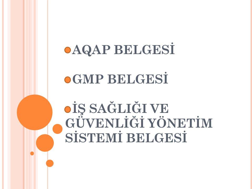AQAP BELGESİ NEDİR .