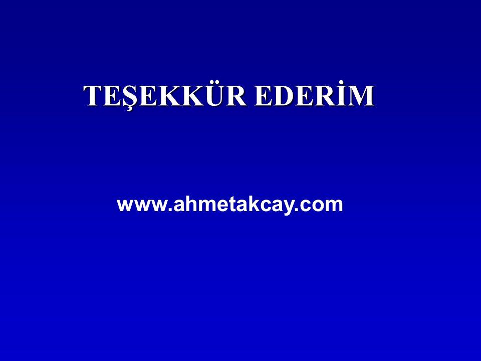 TEŞEKKÜR EDERİM www.ahmetakcay.com