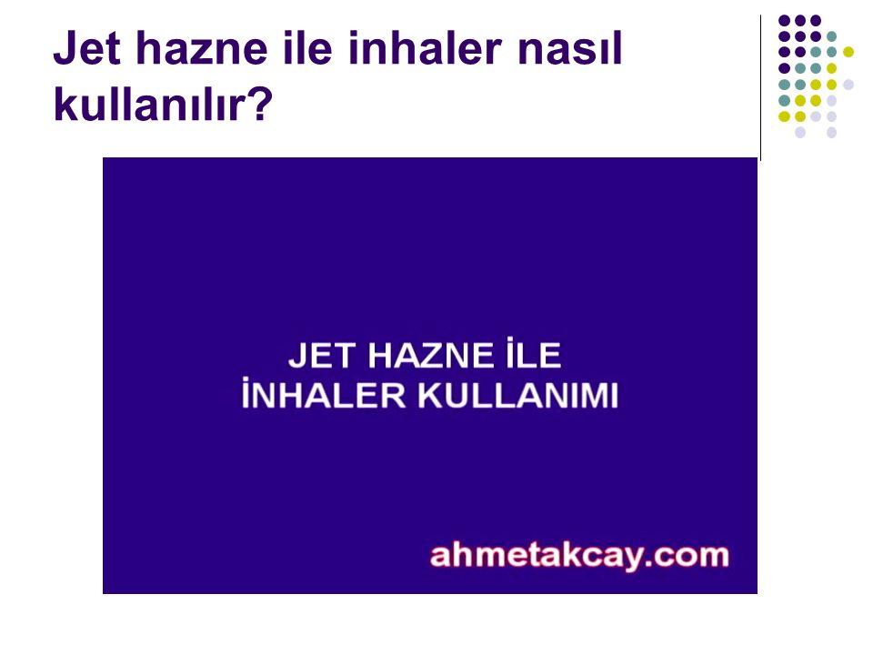 Jet hazne ile inhaler nasıl kullanılır?