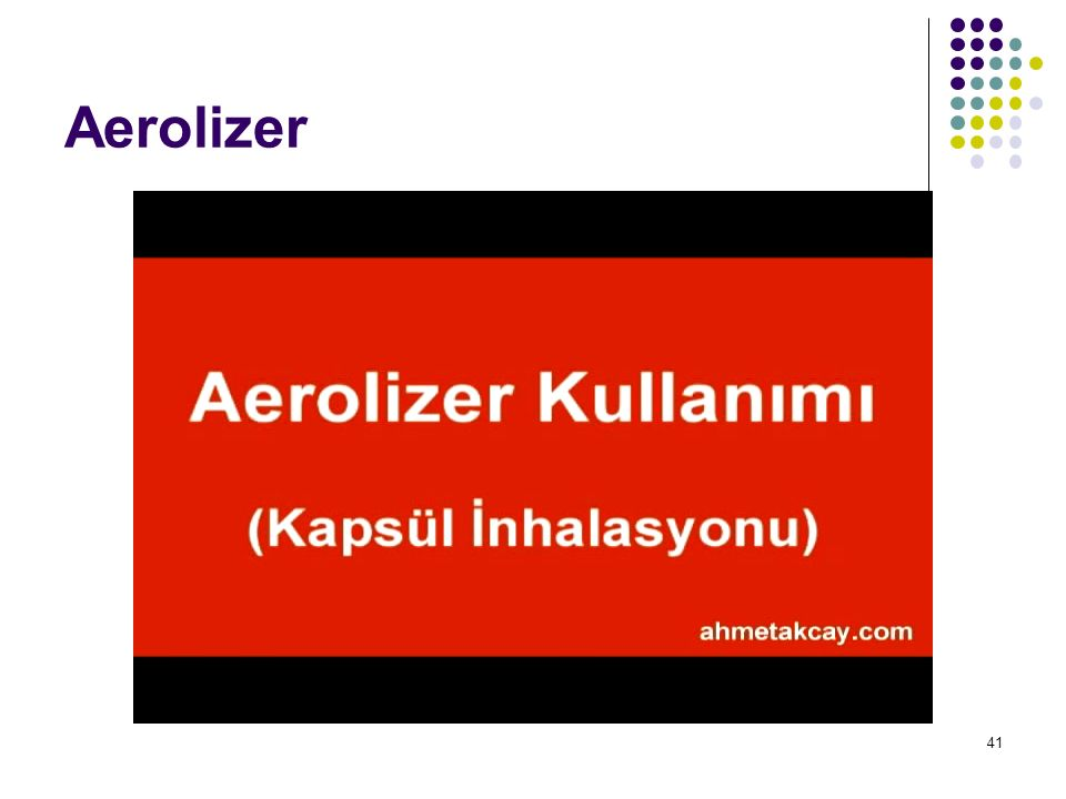Aerolizer 41