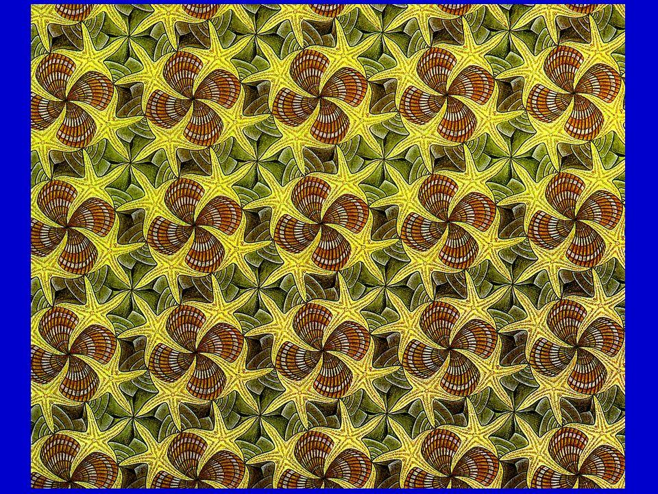 SİMETRİ ELEMANLARI (TRANSLANSYONSUZ) Simetri Kristallerde bulunan yüzey, kenar ve köşe gibi aynı değerli kristal unsurların belli bir düzen içinde yerleşmiş olmasına denir Simetri elemanları Düzenli bir yapının simetrisini saptamaya yardımcı olan geometrik kavramlara denir Simetri eksenleri simetri düzlemleri simetri merkezi Simetri işlemleri Bir eksen etrafındaki döndürme Bir aynada yansıtma Bir noktaya göre ters çevirme