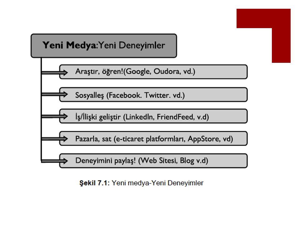 Web  Web 1.0  Tim Berners-Lee  W3Consortium (HTML)  Tarayıcı (Netscape,Mosaic,IE)  Sunucu -> İstemci  İletişim tek yönlü, sınırlı içerik  Katkı paylaşım, etkileşim yok  Ziyaretçi, dinamik bilgiler 7
