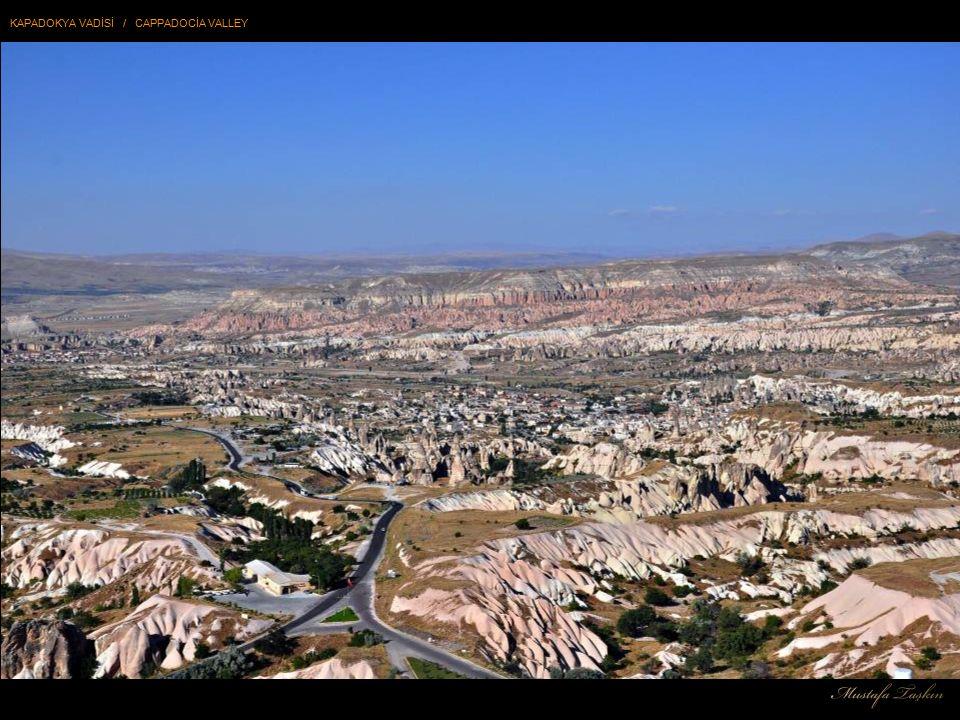 Kapadokya; Kapadokya bölgesi, doğa ve tarihin bütünleştiği bir yerdir.