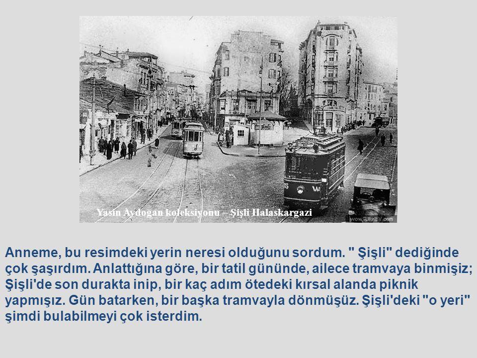 1914 yılının Ocak ayında, Dersaadet tramvay şirketi, elektrikli tramvayın işletilmesi ile ilgili tüm hazırlıkları tamamlamış.