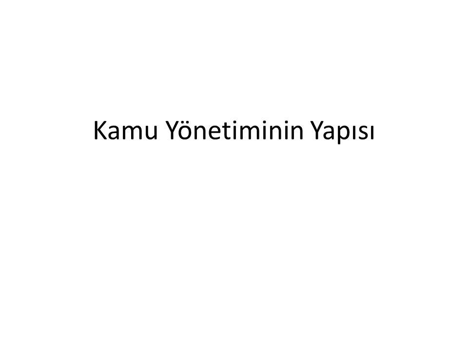 Kamu Yönetiminin Yapısı Merkezi Yönetim Cumhurbaşkanının Görev ve Yetkileri (YÜRÜTME) Milletlerarası antlaşmaları onaylamak ve yayımlamak, Türkiye Büyük Millet Meclisi adına Türk Silahlı Kuvvetlerinin Başkomutanlığını temsil etmek, Türk Silahlı Kuvvetlerinin kullanılmasına karar vermek, Genelkurmay Başkanını atamak, Millî Güvenlik Kurulunu toplantıya çağırmak, Millî Güvenlik Kuruluna Başkanlık etmek, Üniversite rektörlerini seçmek Yükseköğretim Kurulu üyelerini seçmek,