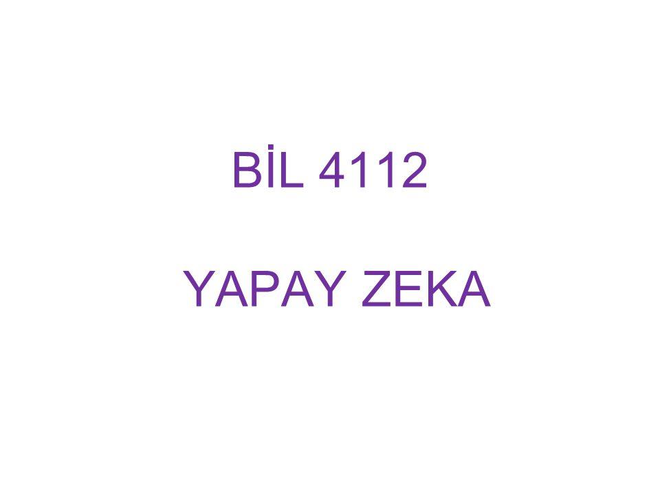 BİL 4112 YAPAY ZEKA