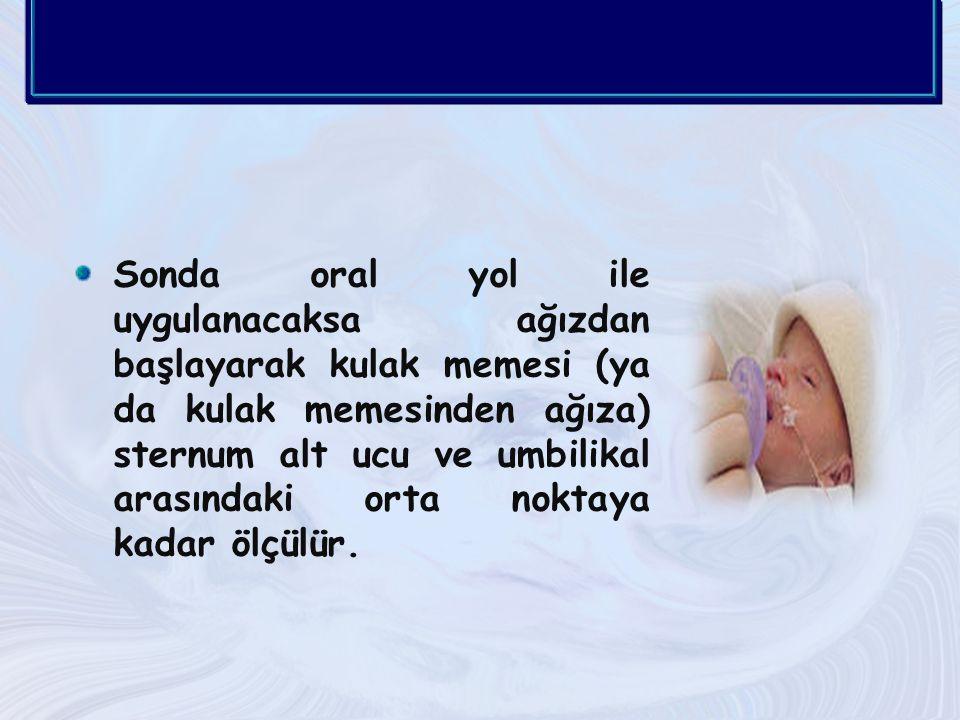 Prematüre bebeklerde 0.5 cc, süt çocuklarında 1-2cc, büyük çocuklarda 5 cc hava verilerek,hava sesi mide üzerindeki bölgeden steteskop ile dinlenir ve verilen hava geri alınır.