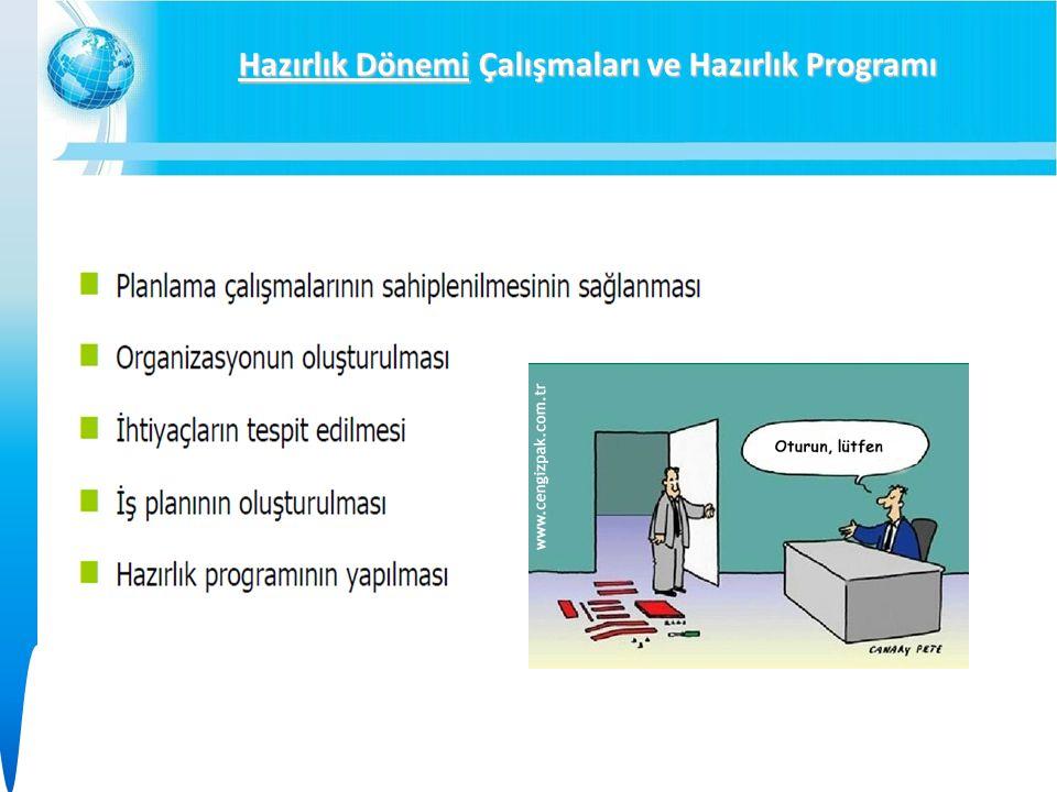 Hazırlık Dönemi Çalışmaları ve Hazırlık Programı