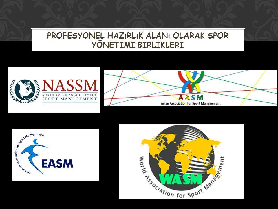 -Spor yöneticisi -Spor teşkilatı -Spor politikası -Spor mevzuatı -Spor tesisleri -Spor organizasyonu'dur.
