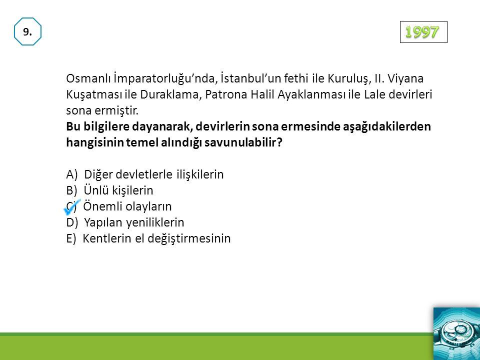 Osmanlı İmparatorluğu'nda, İstanbul'un fethi ile Kuruluş, II.