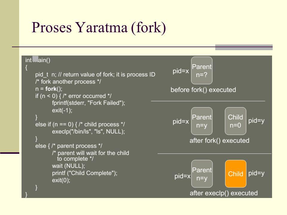 Proses Yaratma (fork)