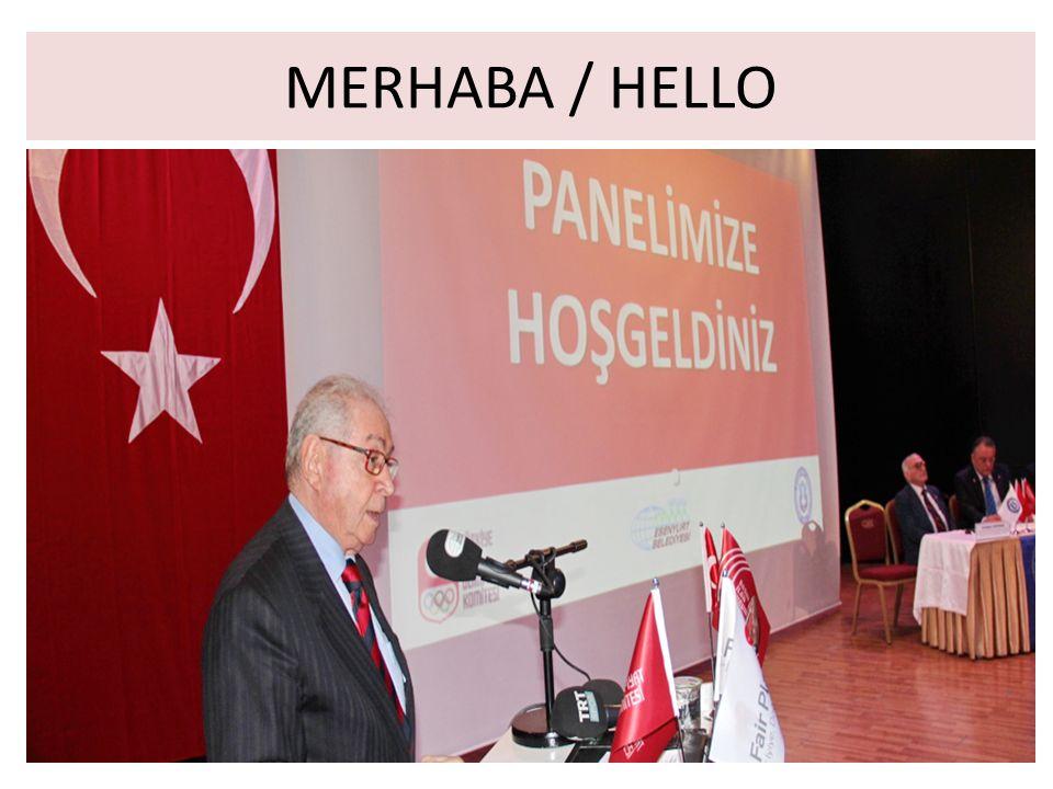 MERHABA / HELLO