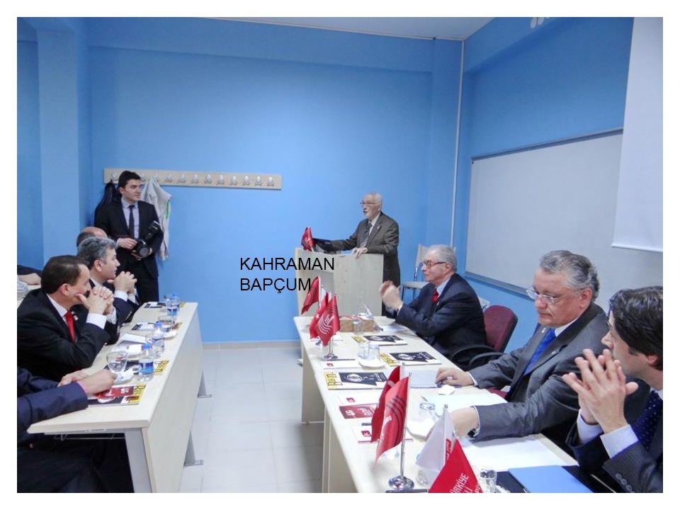 Ankara University ANKARA 11 December 2014