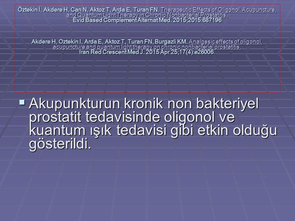 Öztekin İ, Akdere H, Can N, Aktoz T, Arda E, Turan FN.
