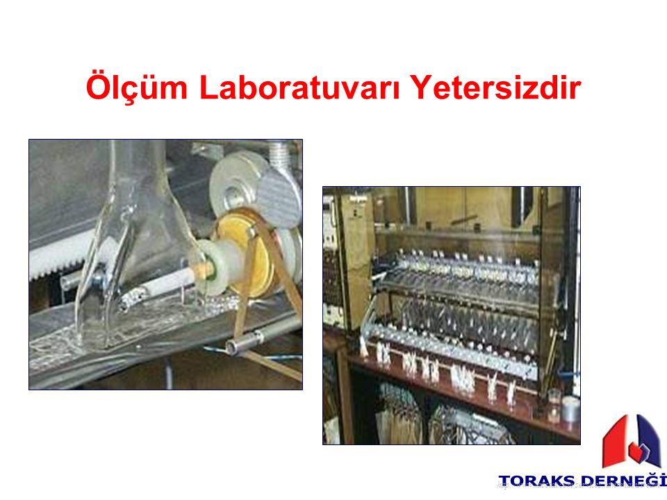 Ölçüm Laboratuvarı Yetersizdir http://www.labstat.com/services.htm#mainstream