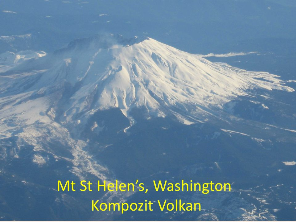 Mt St Helen's, Washington Kompozit Volkan