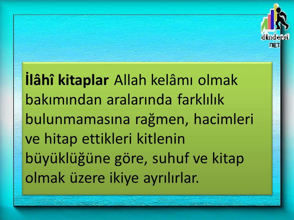Kur an-ı Kerim Allah ın son peygamber Hz.