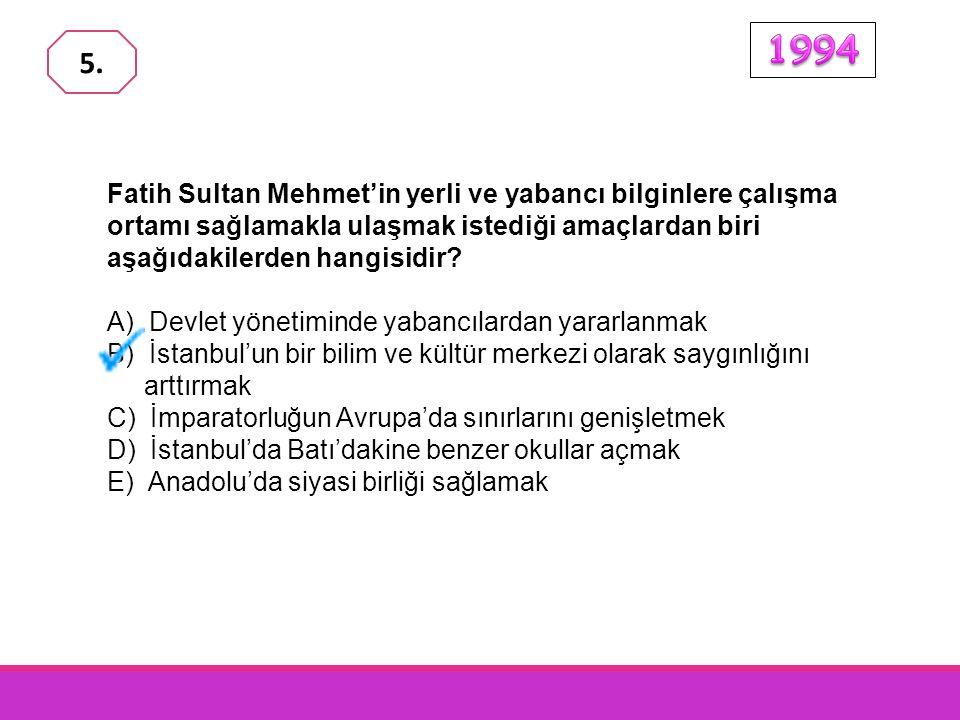 Fatih Sultan Mehmet zamanında; - Cenevizlilerden Amasra - İsfendiyaroğulları'ndan Sinop - Karamanoğulları'ndan Konya ve Karaman, alınmıştır.