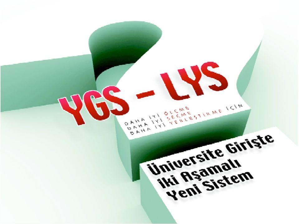 Üniversiteye girişte iki aşamalı yeni sistem, 29 ocak 2009 tarihli YÖK toplantısında kararlaştırılarak 21temmuz 2009 tarihinde kesinleştirildi.