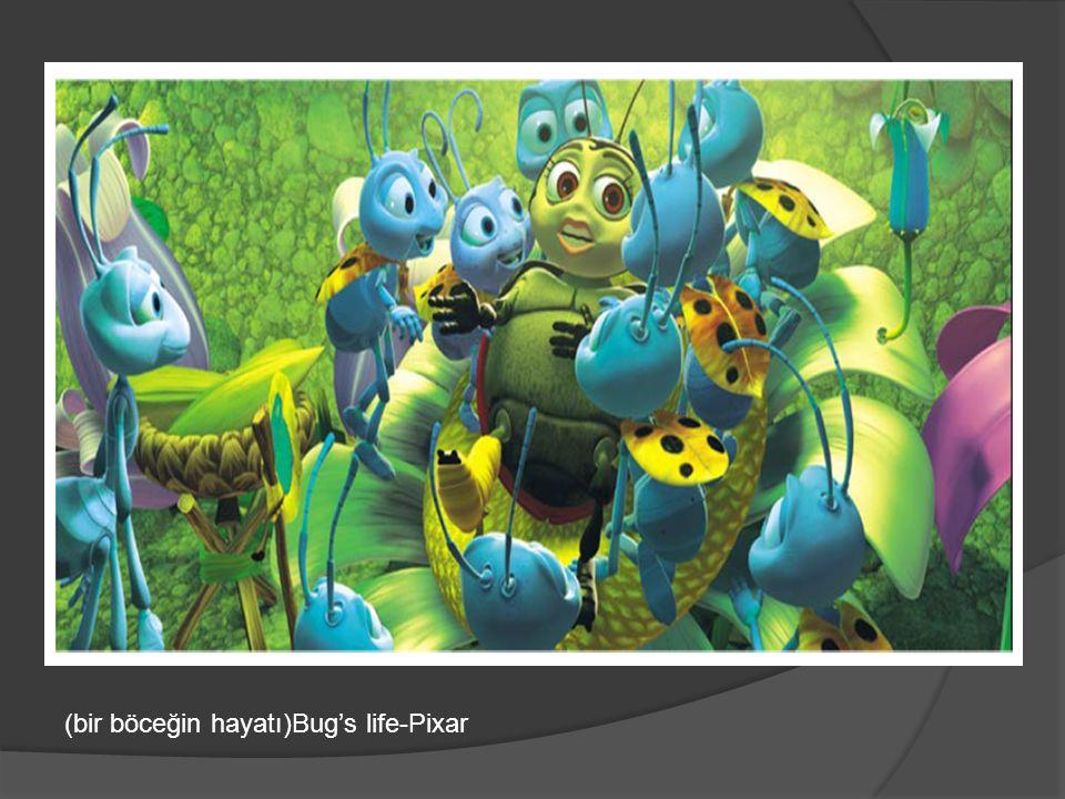 (bir böceğin hayatı)Bug's life-Pixar
