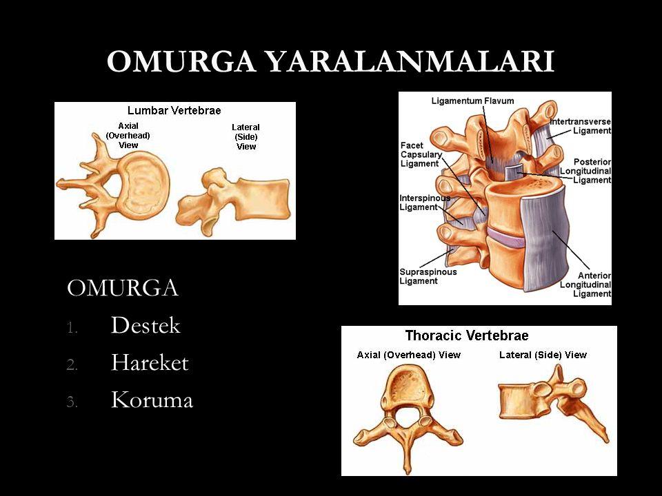 Tanı  İyi bir klinik muayene  Nörolojik değerlendirme  Radyolojik analiz Kaliteli x-ray Kaliteli x-ray BT BT MRG MRG