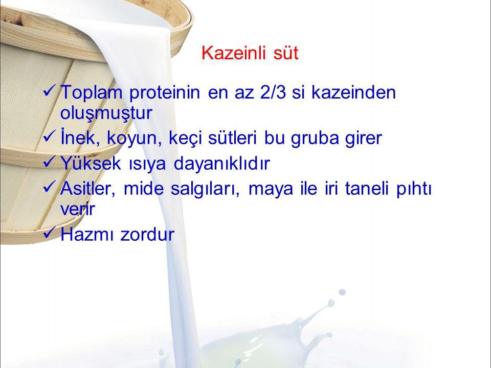 Sütün yüzey gerilimini etkileyen faktörler Kazein ve laktalbumin sütün yüzey gerilimini azaltan bileşikleridir.