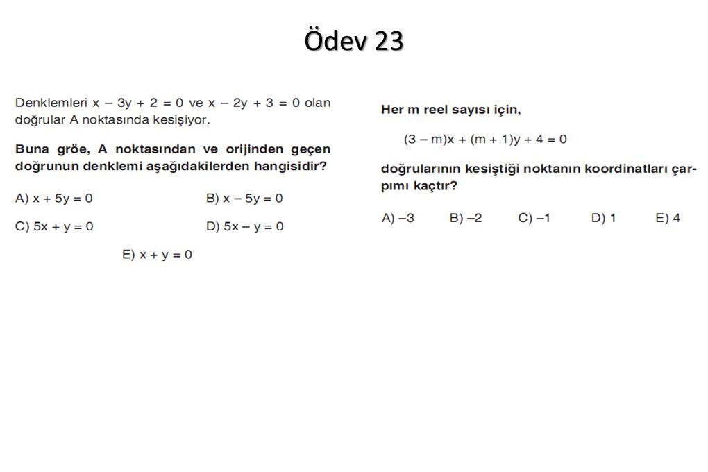 Ödev 23