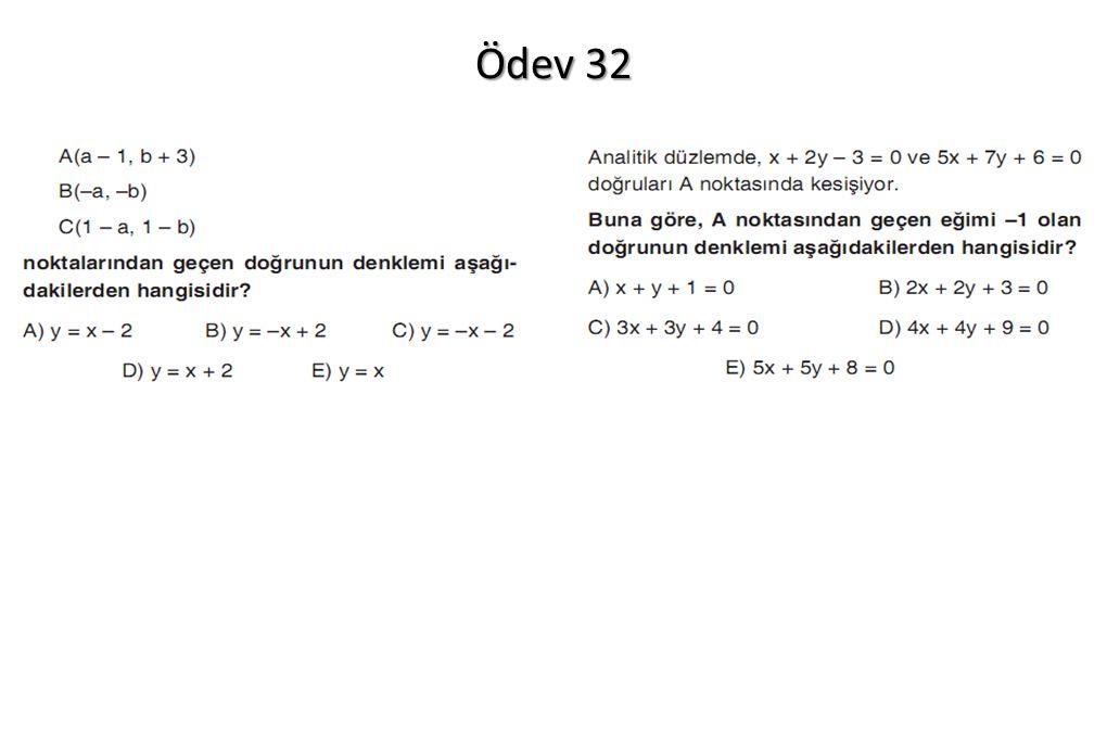 Ödev 32