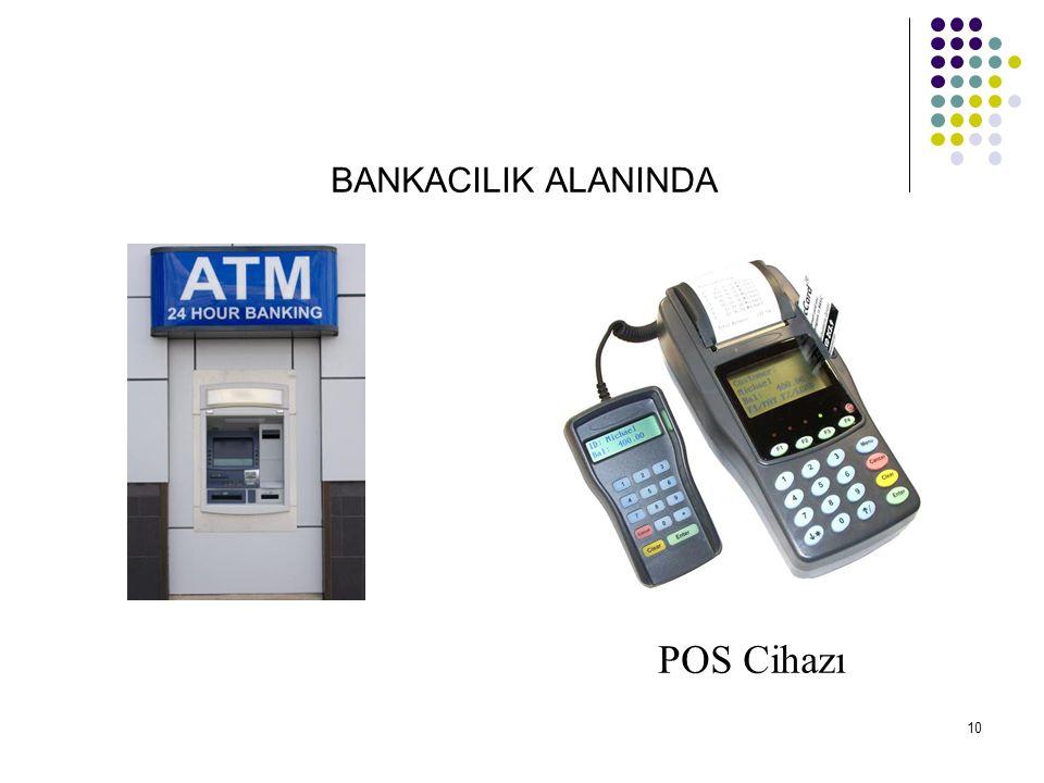 BANKACILIK ALANINDA POS Cihazı 10