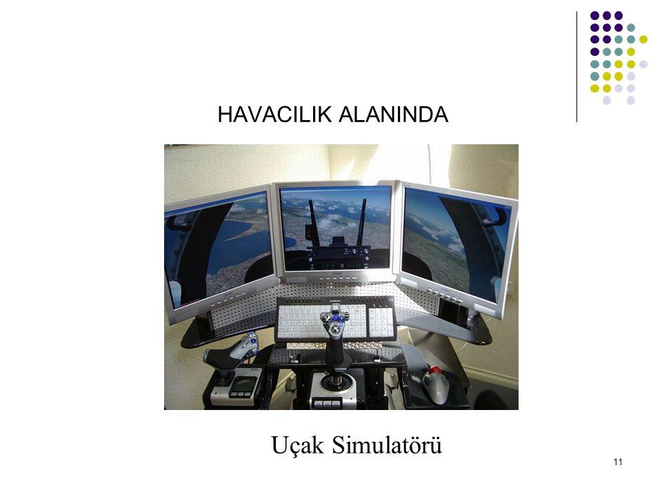 HAVACILIK ALANINDA Uçak Simulatörü 11