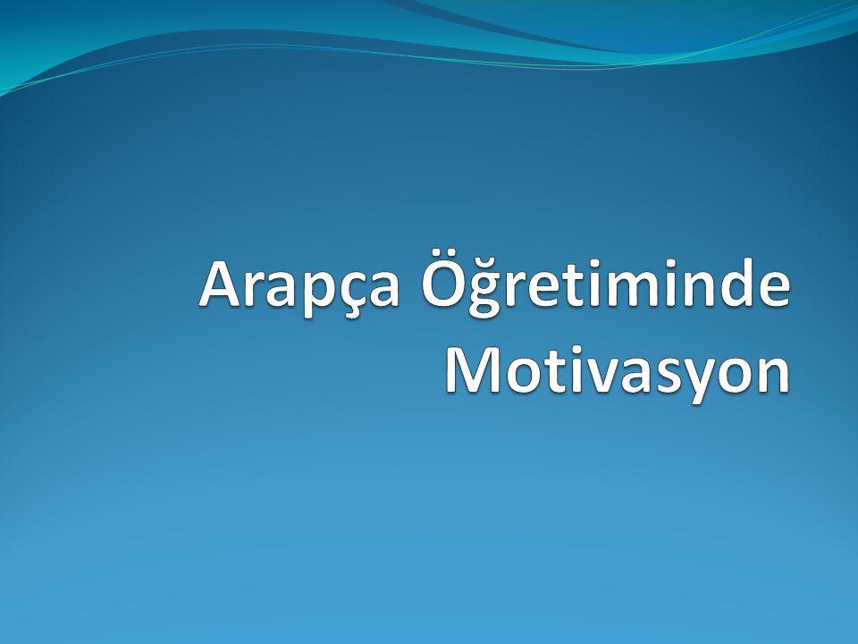 Motivasyon Nedir.