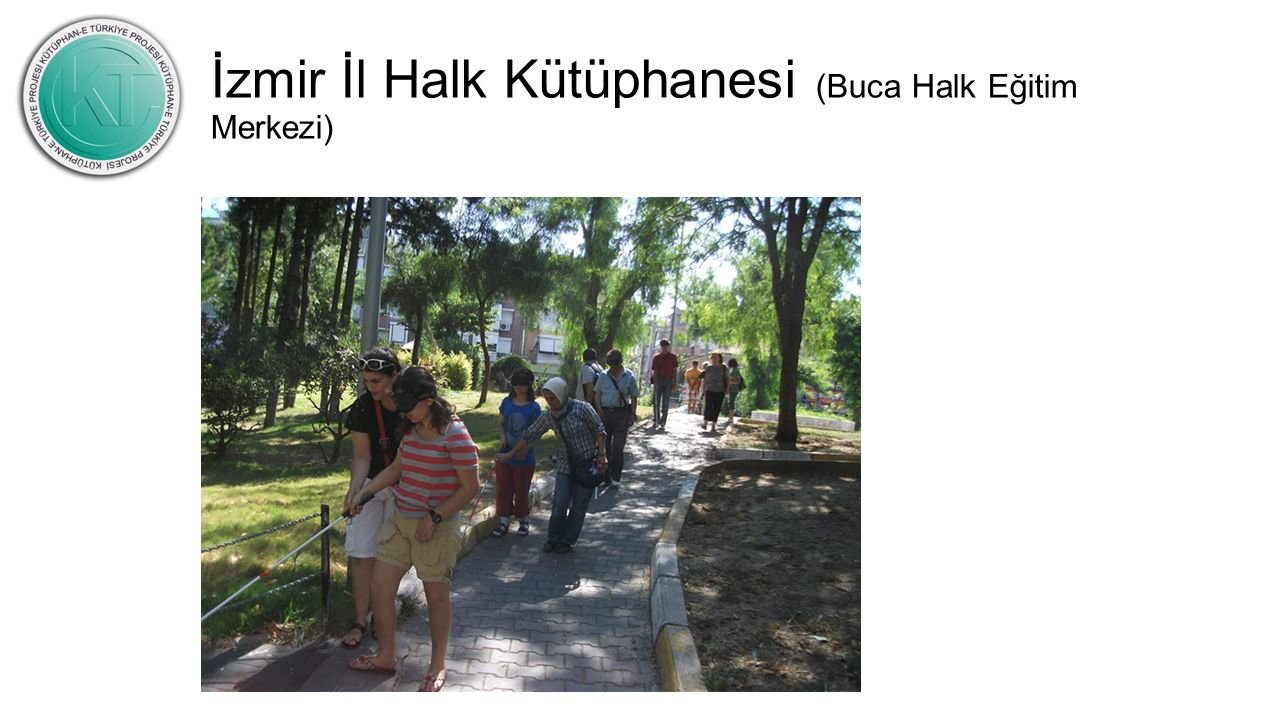 İzmir İl Halk Kütüphanesi (Buca Halk Eğitim Merkezi)