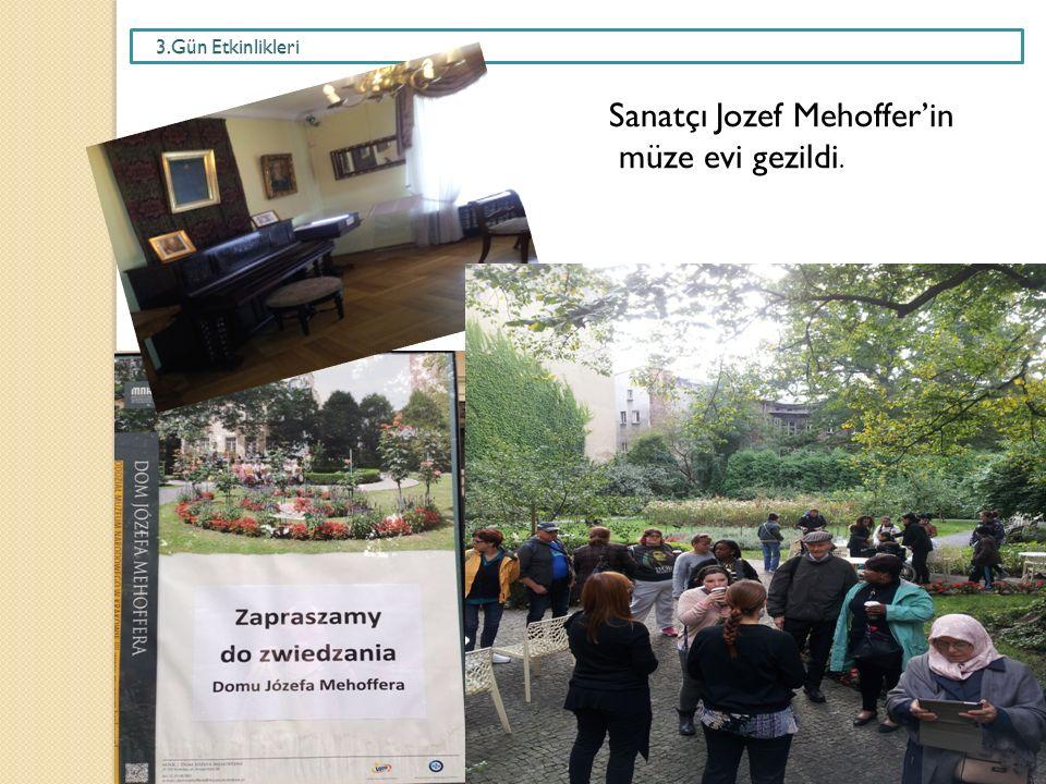 Sanatçı Jozef Mehoffer'in müze evi gezildi.