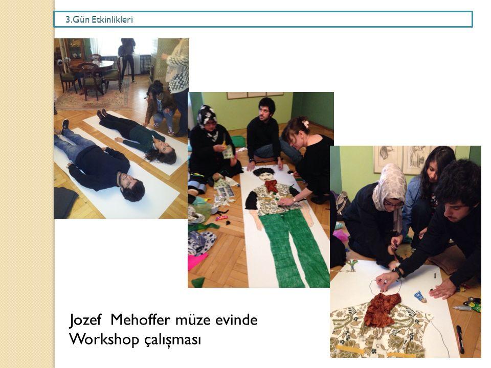 Jozef Mehoffer müze evinde Workshop çalışması