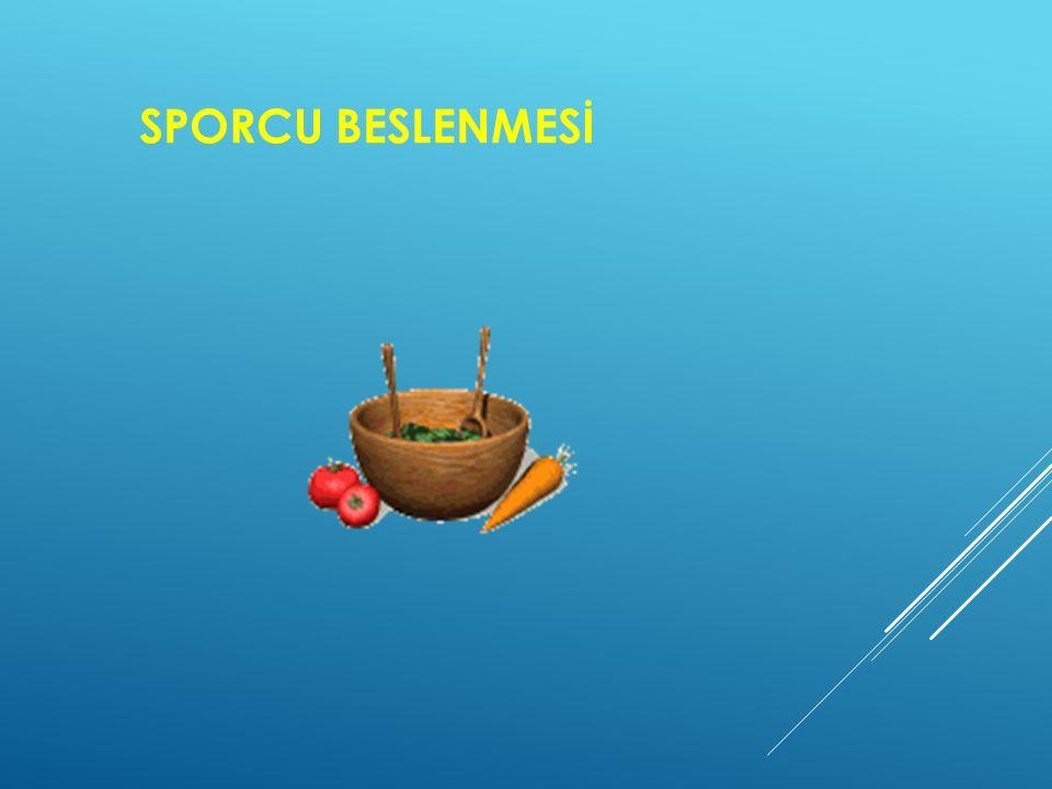 SPORCU BESLENMESİ