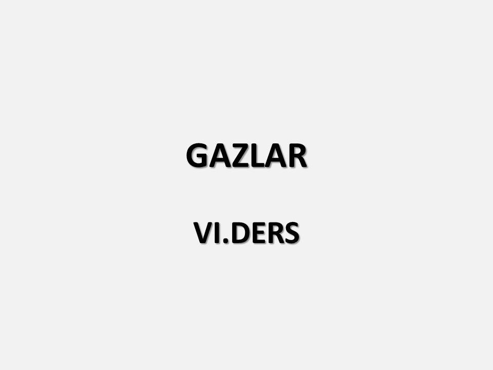GAZLAR VI.DERS