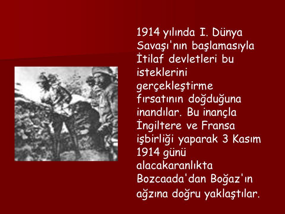 1914 yılında I.