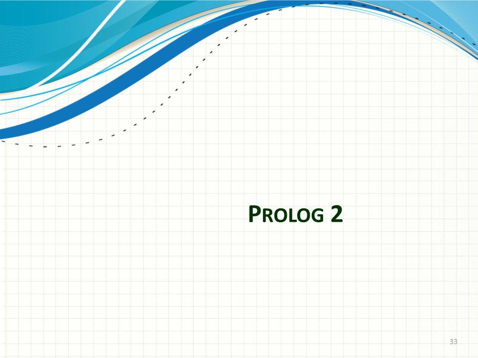 P ROLOG 2 33