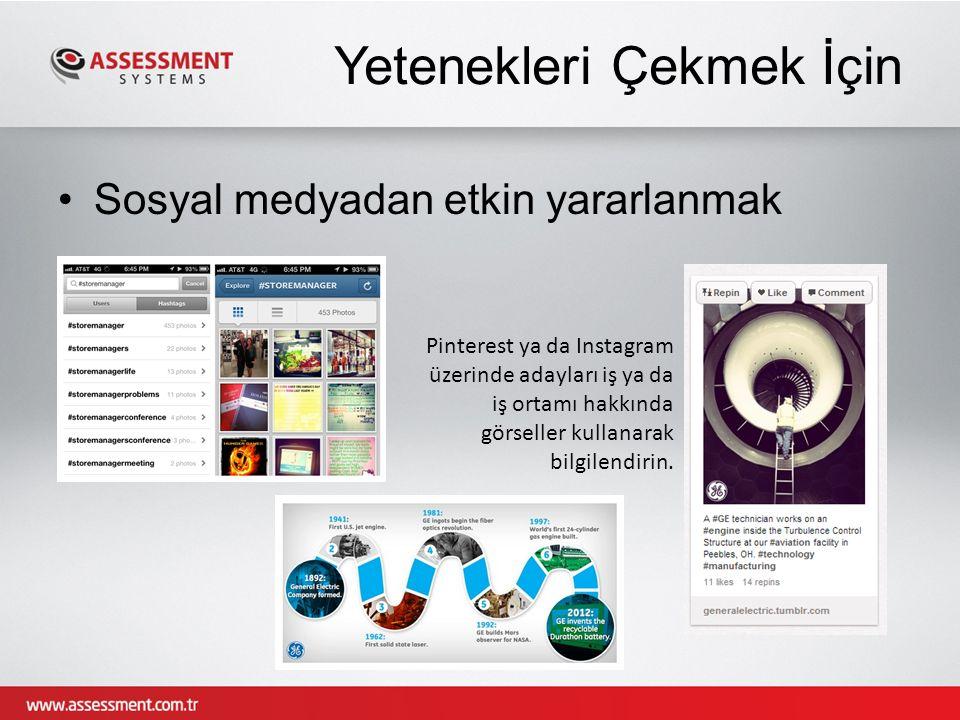 Teşekkürler © Assessment Systems, 2013 info@assessment.com.tr