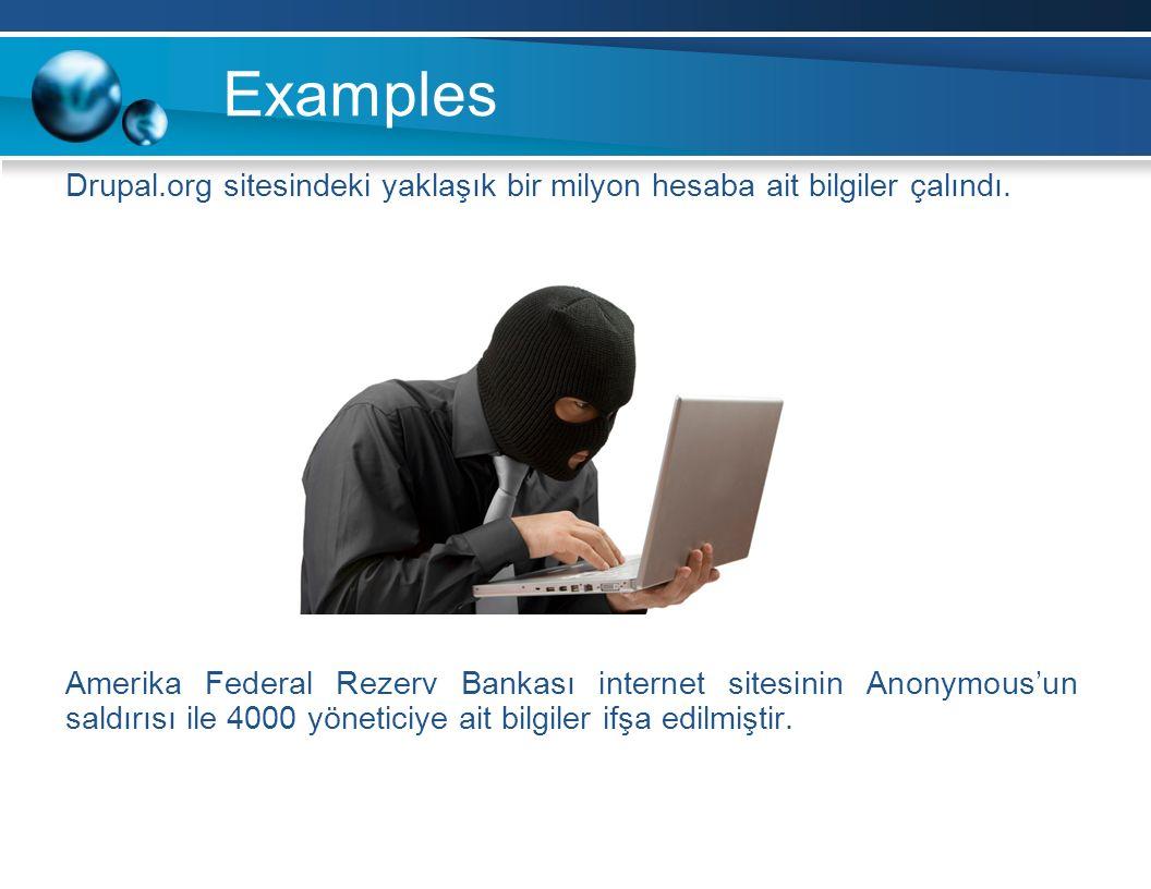 Drupal.org sitesindeki yaklaşık bir milyon hesaba ait bilgiler çalındı.