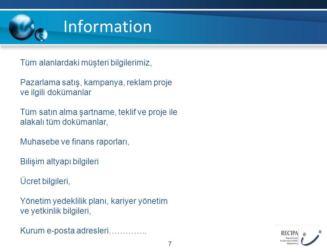 Common Mistakes 8 Bilgi güvenliğinden Bilgi İşlem sorumludur.