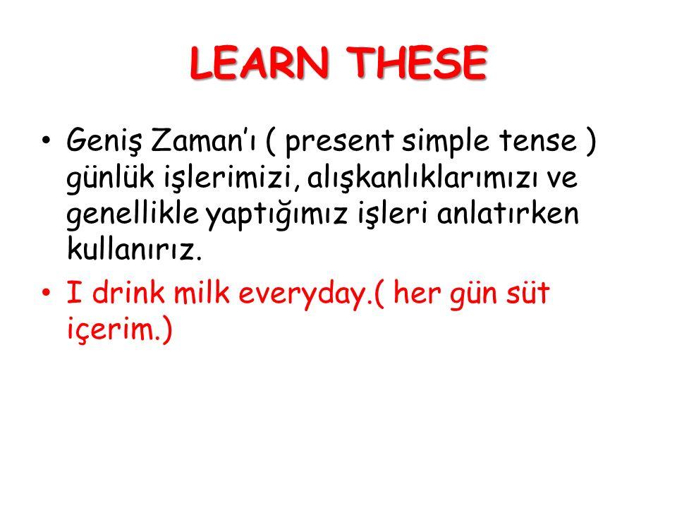 Selin is a teacher. She teaches English.