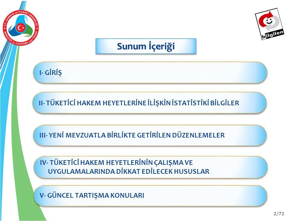 63/72 V- GÜNCEL TARTIŞMA KONULARI 3.