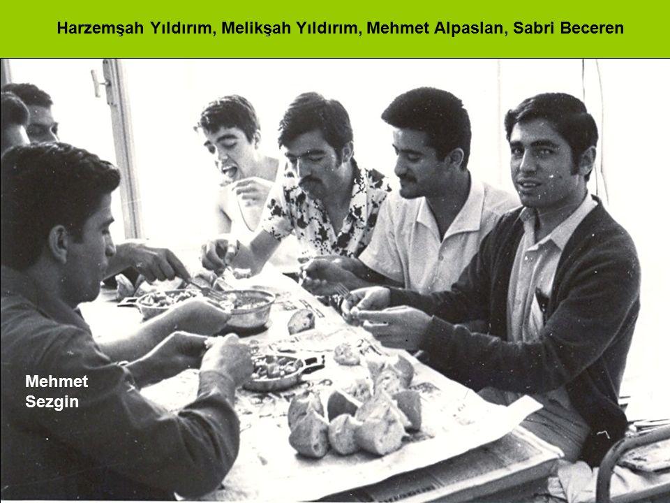 Mehmet Sezgin Harzemşah Yıldırım, Melikşah Yıldırım, Mehmet Alpaslan, Sabri Beceren
