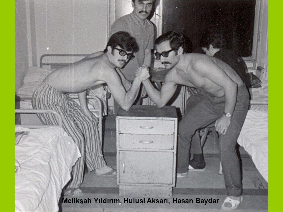 Melikşah Yıldırım, Hulusi Aksarı, Hasan Baydar