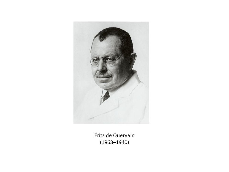 Fritz de Quervain (1868–1940)