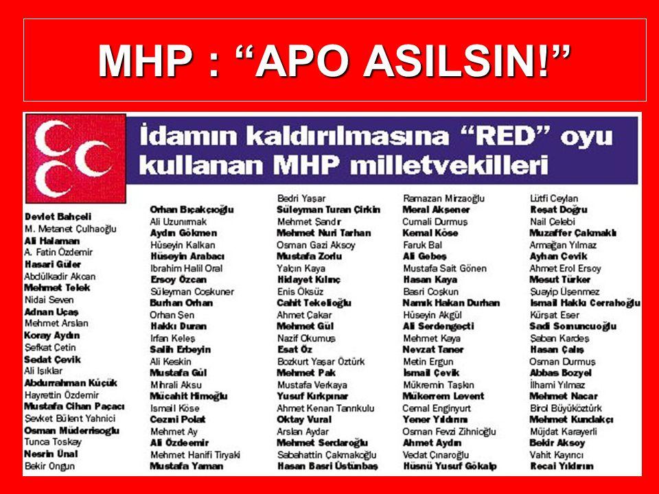 """MHP : """"APO ASILSIN!"""""""