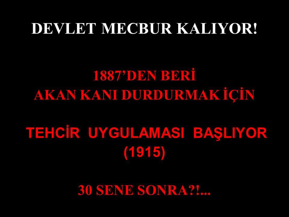 DEVLET MECBUR KALIYOR.