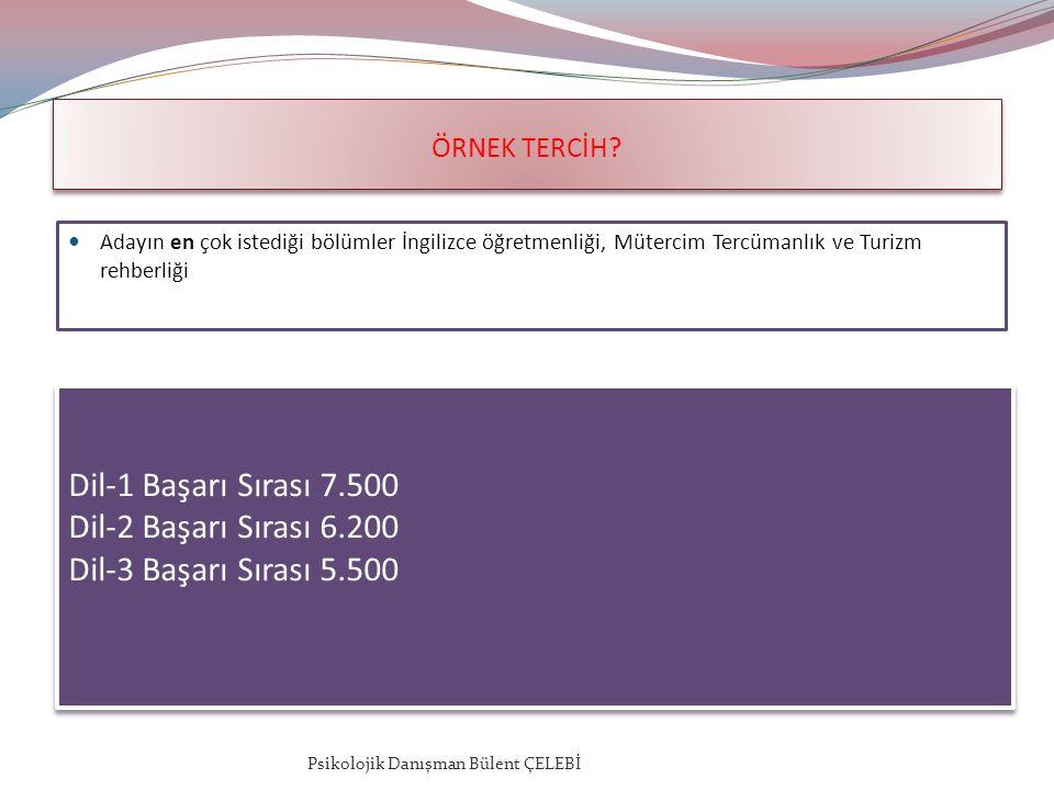 ÖRNEK TERCİH.