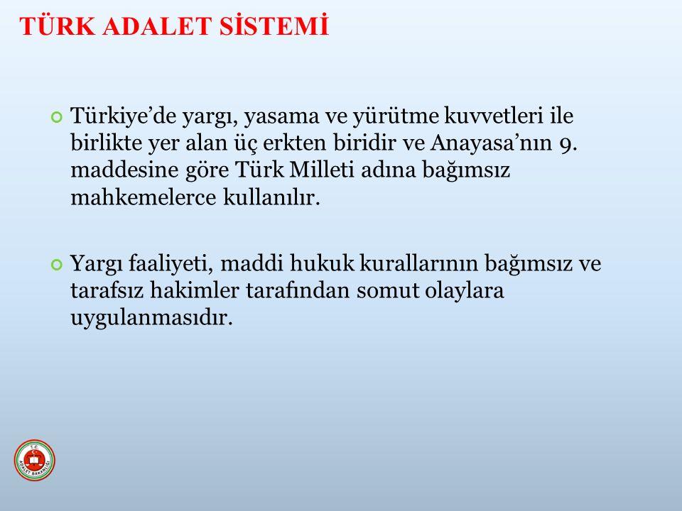 Türkiye'de yargı, yasama ve yürütme kuvvetleri ile birlikte yer alan üç erkten biridir ve Anayasa'nın 9.